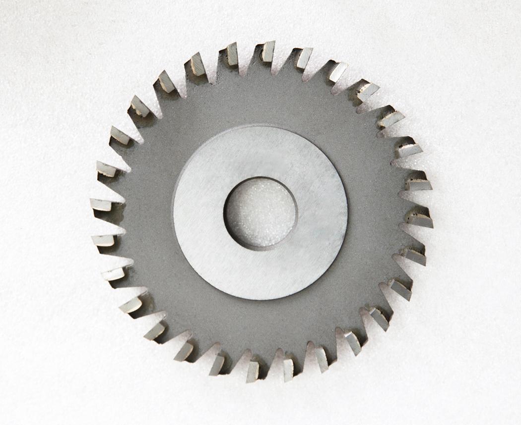 镶齿三面刃铣刀