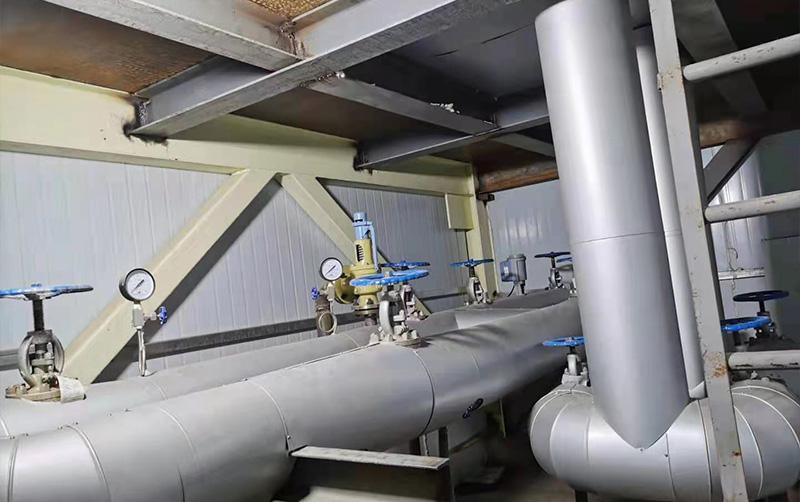 电厂设备铁皮保温