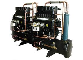 冷水机组回收