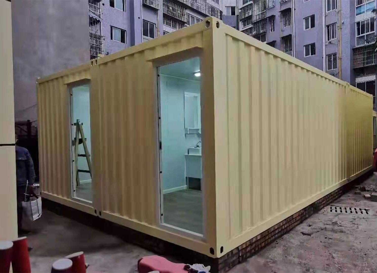 简阳集装箱的新应用与优势