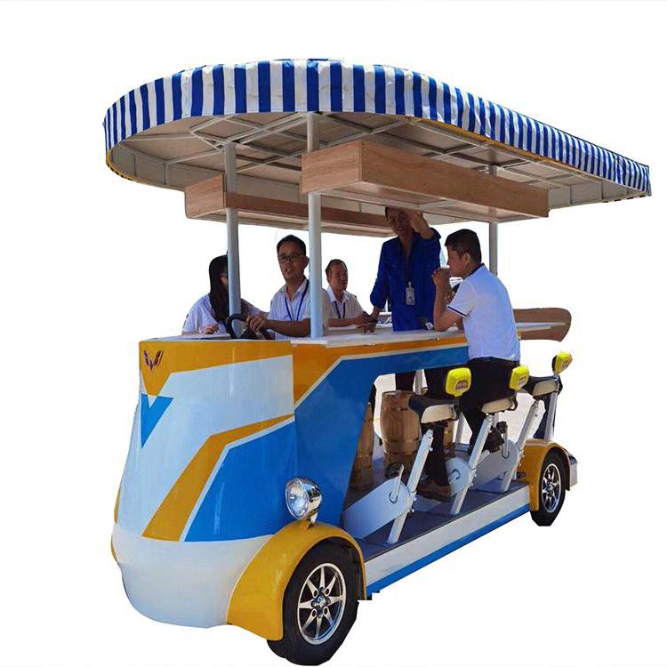 电动啤酒观光车