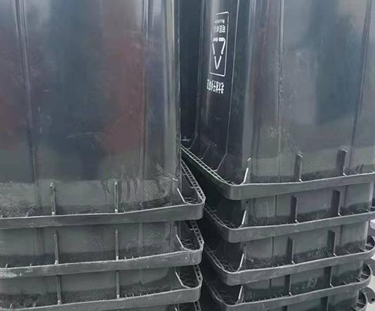 户外塑料分类垃圾桶