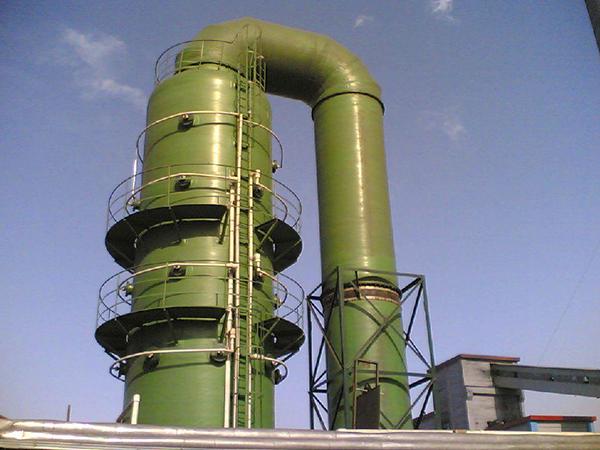 电厂玻璃钢脱硫塔