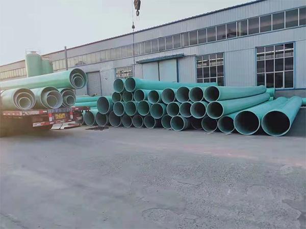 大口徑玻璃鋼排水管
