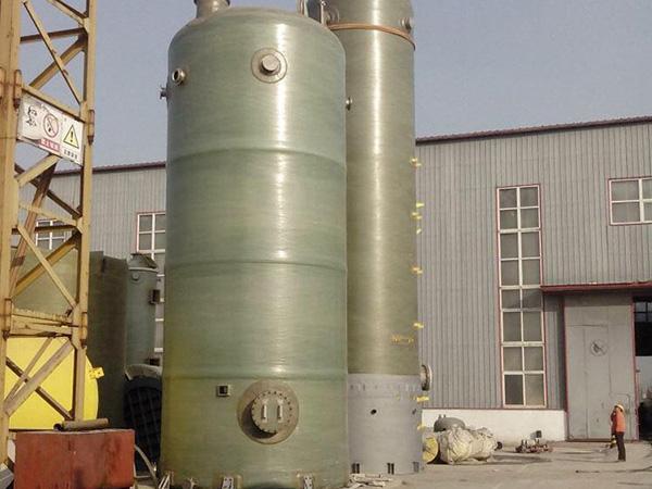 锅炉烟气玻璃钢脱硫塔