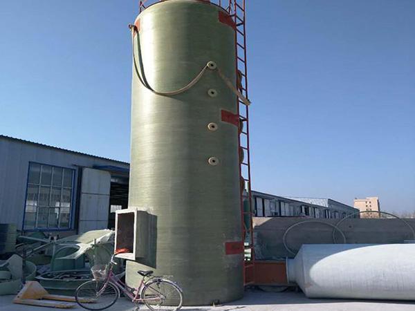 废气玻璃钢脱硫塔