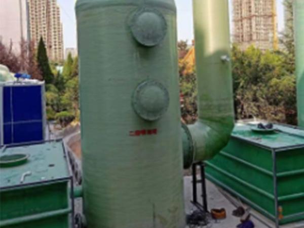 废气玻璃钢净化塔