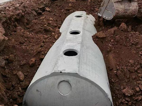 水泥砼化粪池