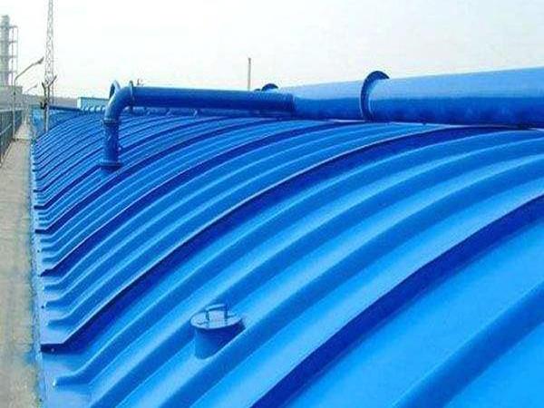 弧形污水池集气罩