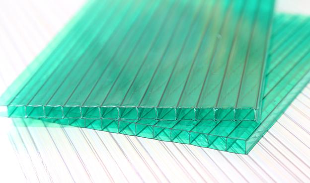 绿色双层阳光板