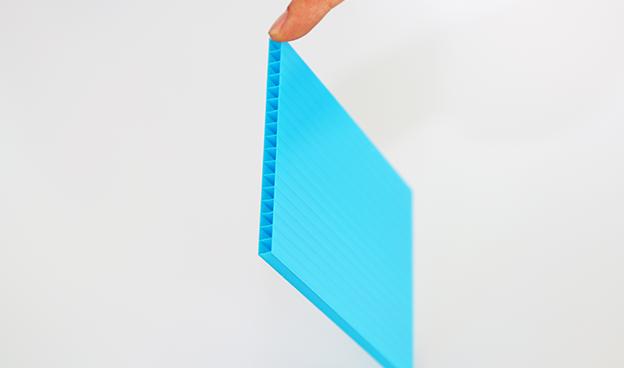 蓝色阳光板