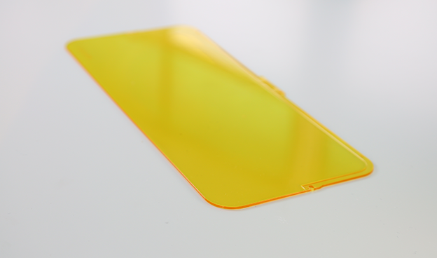 黄色PC耐力板