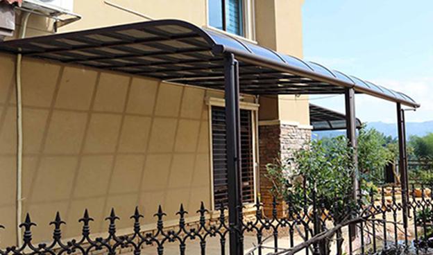 耐力板组装式雨棚
