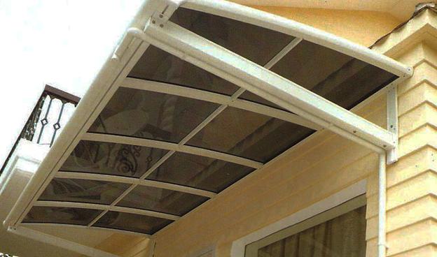 悬挂式雨棚
