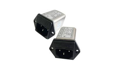 带保险丝通用型IEC插座滤波器