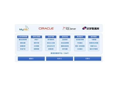 数据库管理平台DMP