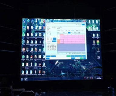 龍門浩老街 室內P3.91全彩顯示屏