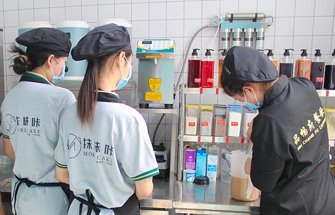 抹味咔奶茶培训