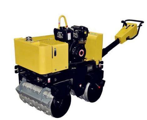 单轮小型压路机