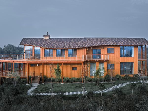 福建定制木屋别墅都有什么优势?