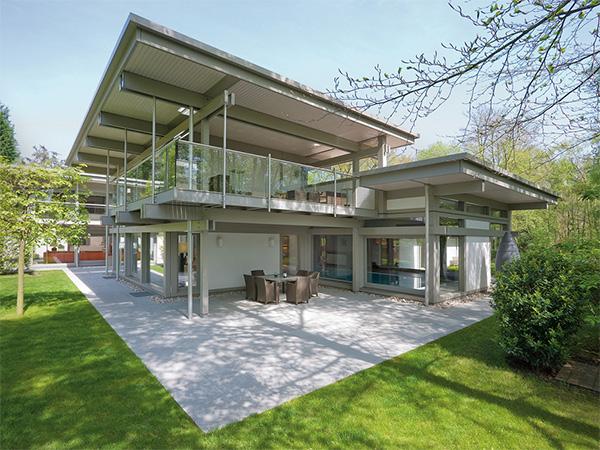 芬兰式木结构房屋