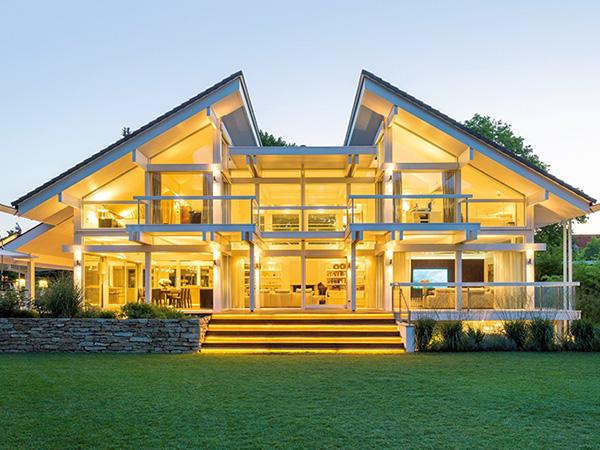 芬兰梁柱式木屋