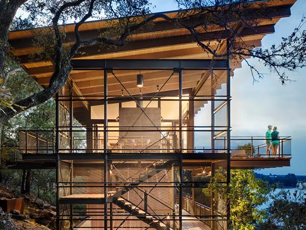 现代式别墅木屋