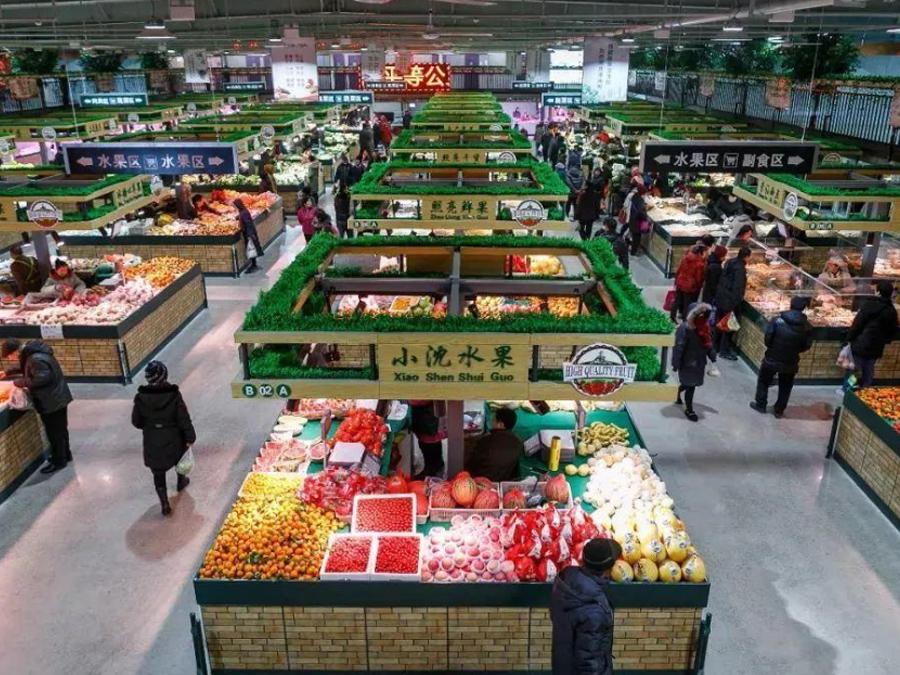 商场超市、菜市场