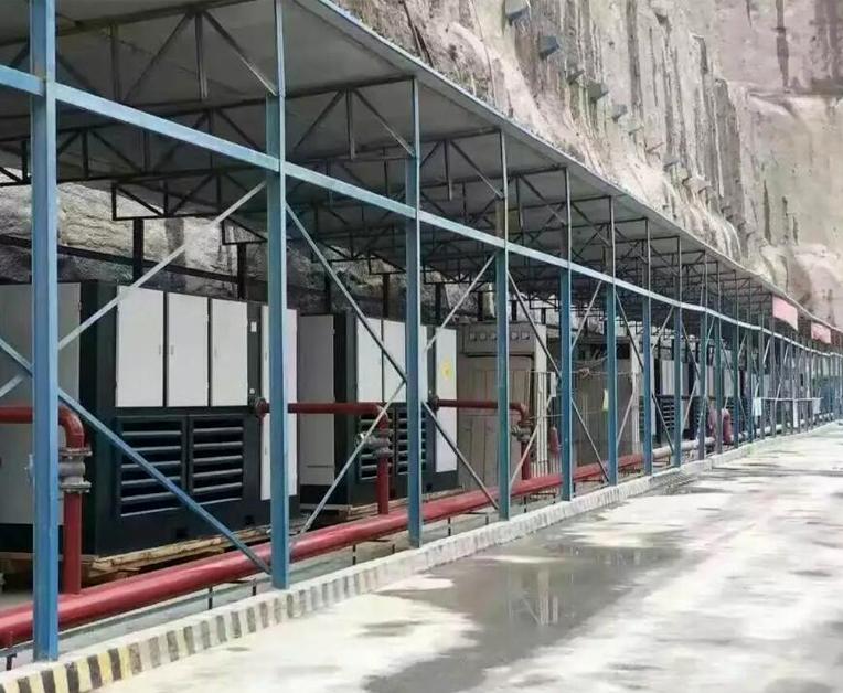 中水电集团采购20台两级压缩节能机