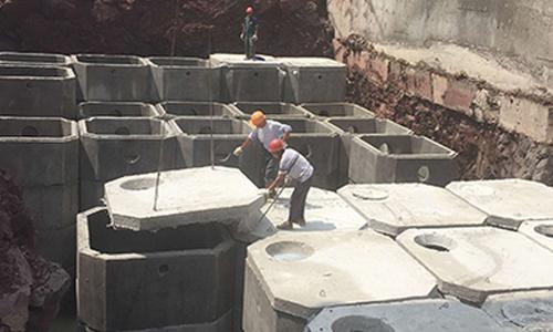 旭辉城一期项目施工