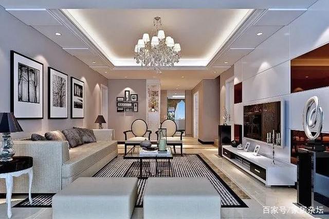 大宅室内装修简约风格如何,给业主不一样的体验