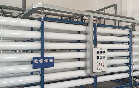 阜新污水厂75T每小时中水回用系统