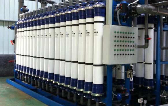 阜新某生物质热电厂50T每小时超滤系统