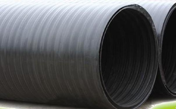 hdpe塑钢中空壁缠绕管