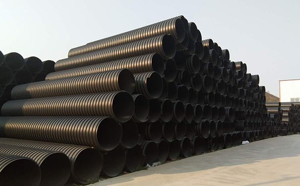 HDPE钢带增强复合排污波纹管