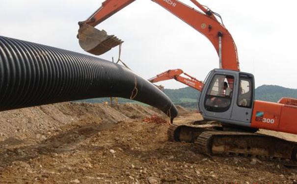 公共建设波纹管施工