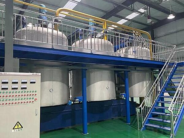 动物油脂熔炼设备(负压工艺)