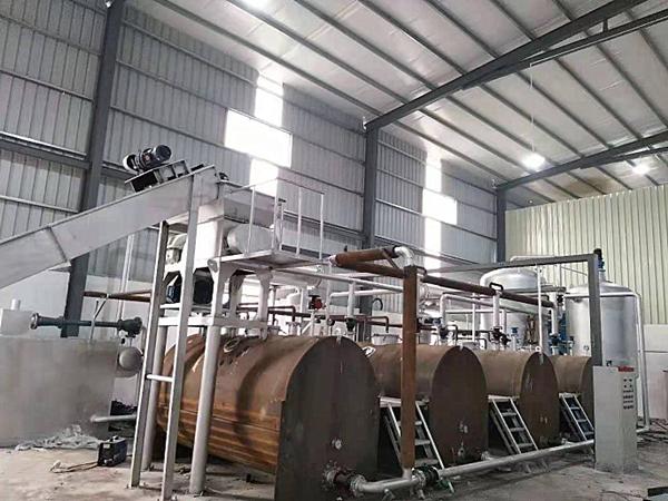 动物油熬炼设备(卧式锅体)
