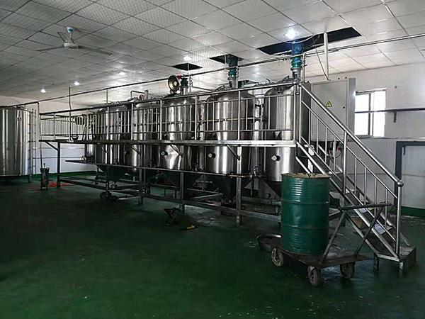 茶籽油精炼加工设备