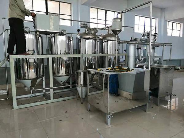 核桃油榨油精炼设备