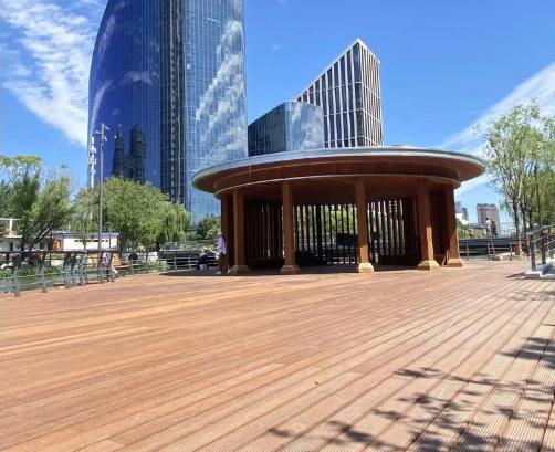 北京亮马河项目—竹地板