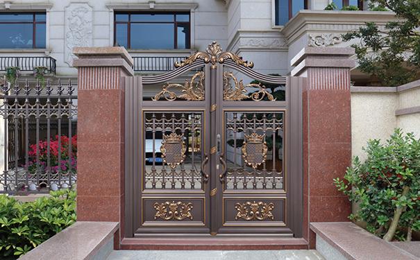 贵州铝艺庭院大门