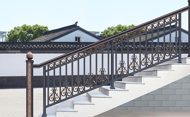 户外铝艺楼梯