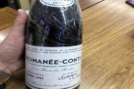 罗曼康尼帝红酒回收