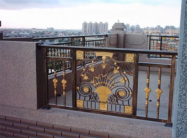 阳台防护栏杆