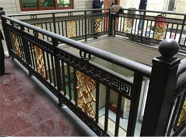沐川铝艺护栏加工制作、施工安装