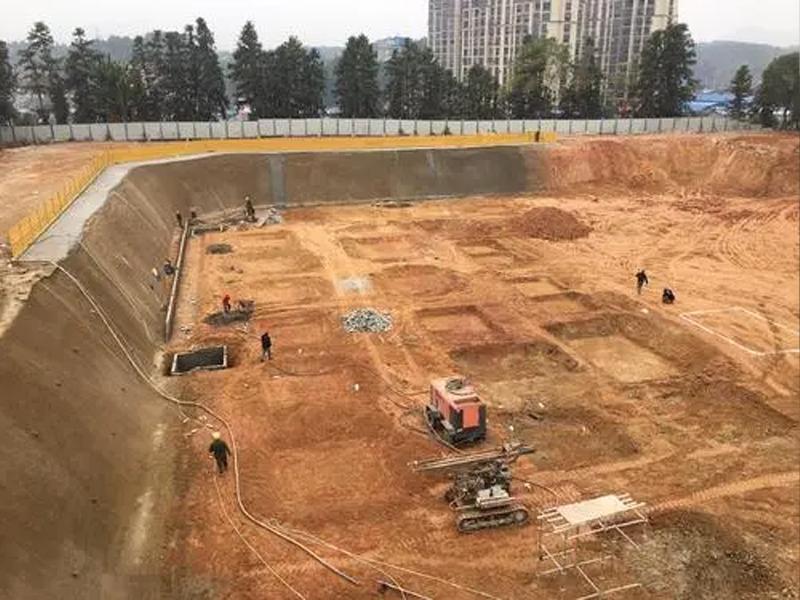 人防工程开挖