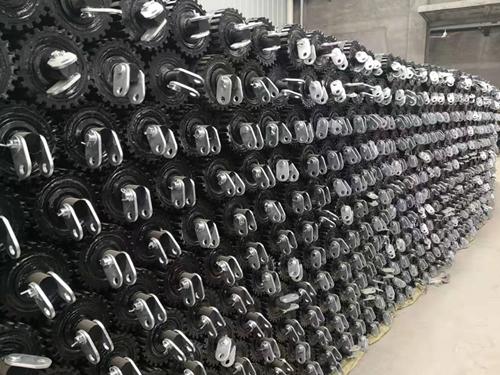 橡胶轮胎托辊