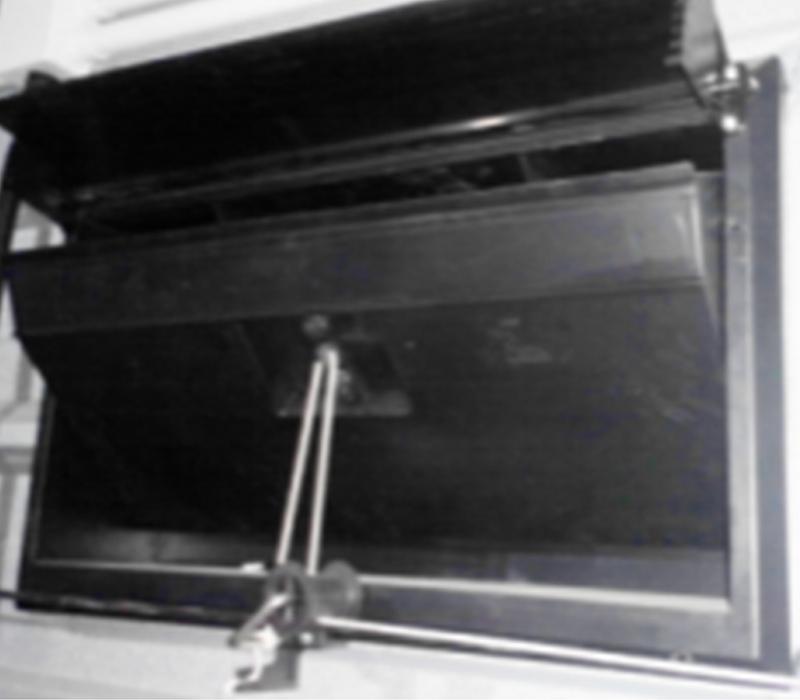 CJ01弹簧进风窗