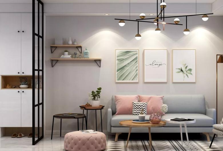 北欧风格家装客厅案例